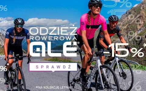 ALE - letnia odzież rowerowa -15%