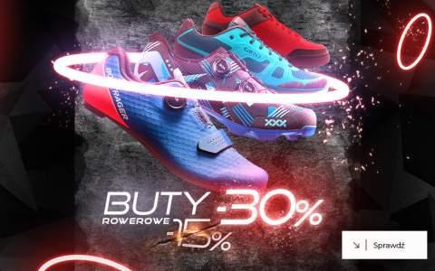 Buty rowerowe -30%