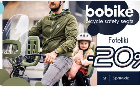 Foteliki rowerowe Bobike -20%