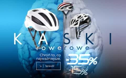 Kaski Rowerowe -35%