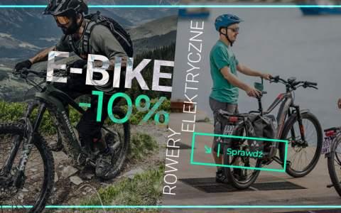 Rowery elektryczne -10%