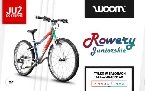 Rowery juniorskie WOOM