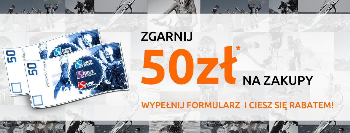Promocja 50 zł na zakupy powyżej 300 zł.