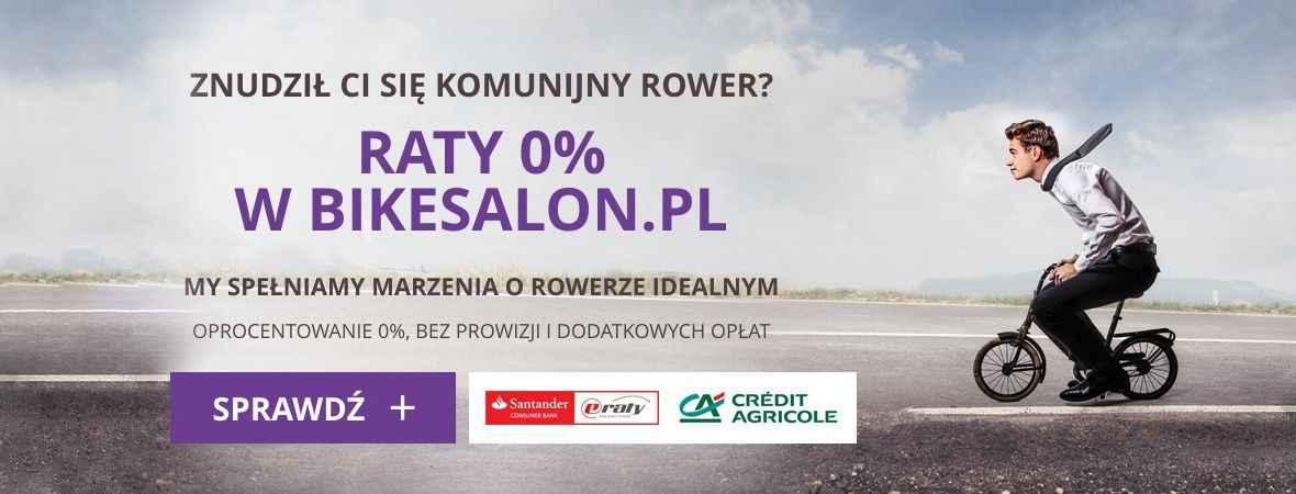 Rowery na raty w BikeSalon.pl
