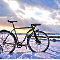 Zimowa jazda rowerem