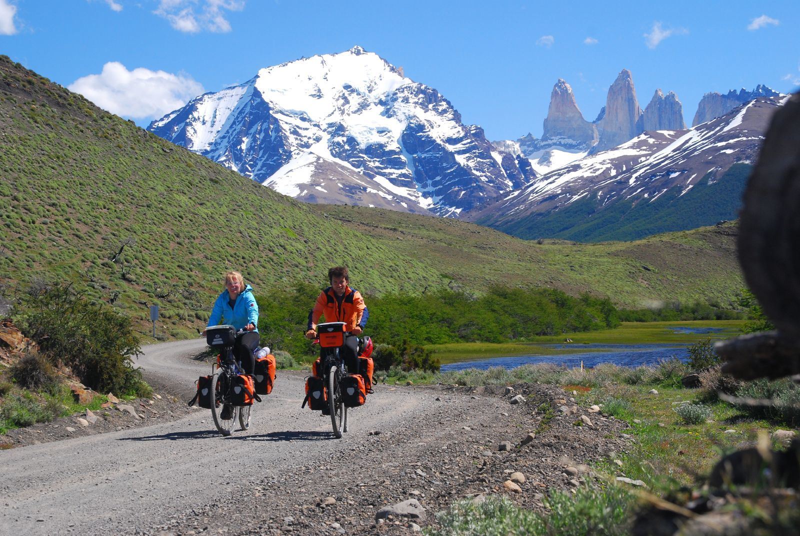 Podróżowanie rowerem - część druga
