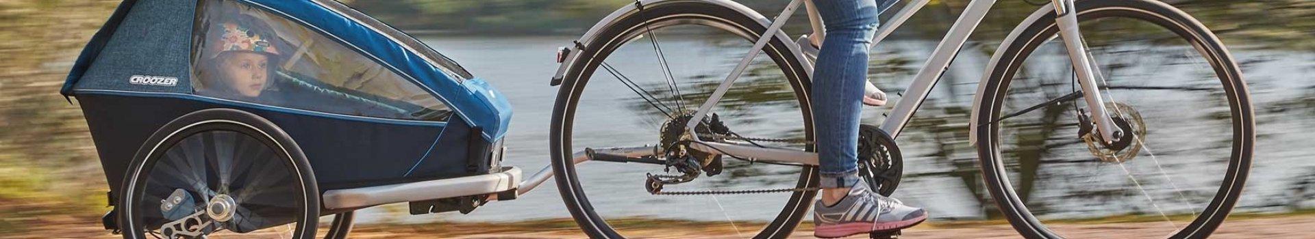 Przyczepki rowerowe Croozer - wygodne podróże od urodzenia!