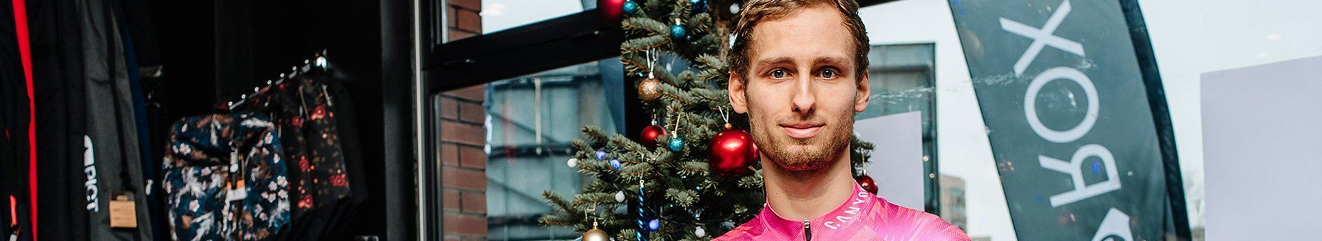 Michał Kamiński - pierwszy Polak, startujący w Mistrzostwach Świata UCI Zwift w e-kolarstwie