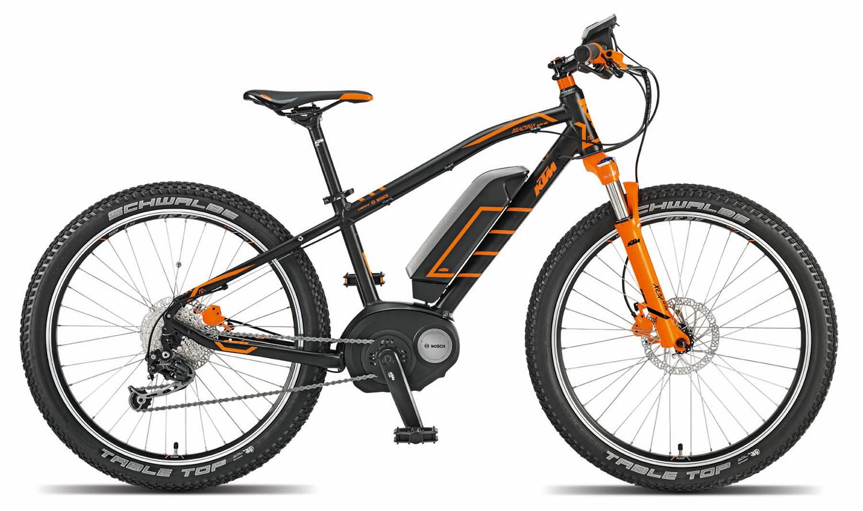 Rower juniorski z silnikiem - KTM Macina Mini ME 24