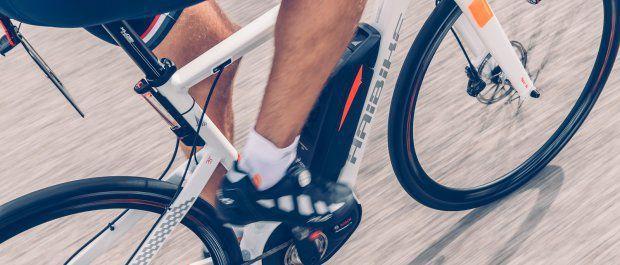 Co potrafi Haibike, czyli rower na skoczni narciarskiej