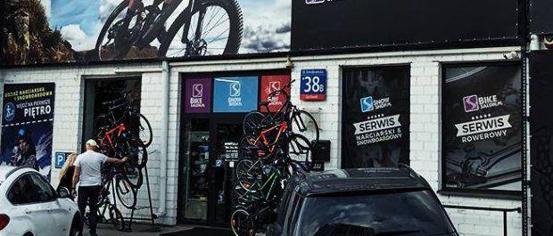 Sklep rowerowy to nie tylko jednoślady