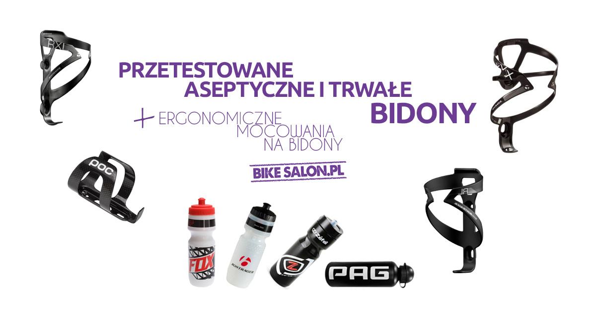 Wybierz idealny bidon w Bikesalon.pl!