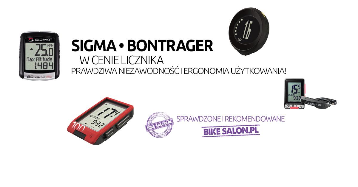 Sigma, Bontrager, Kellys: najlepsze liczniki rowerowe na Bikesalon.pl