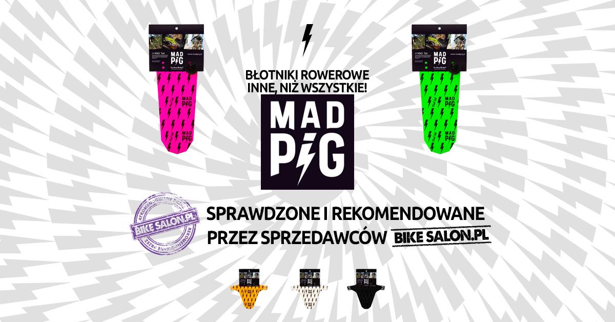 Mad Pig - oryginalne błotniki rowerowe z Polski!