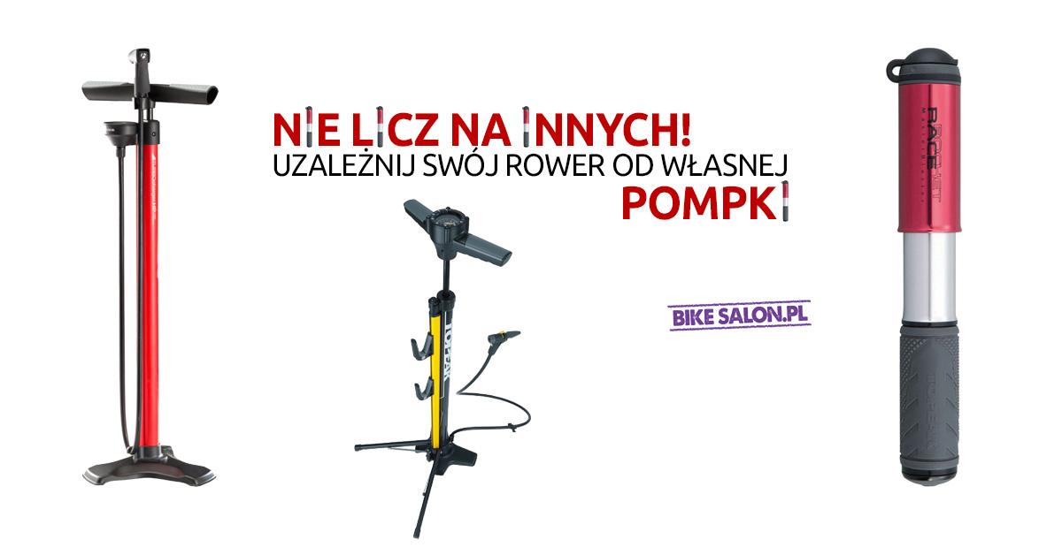 Pompki rowerowe w Bikesalon.pl