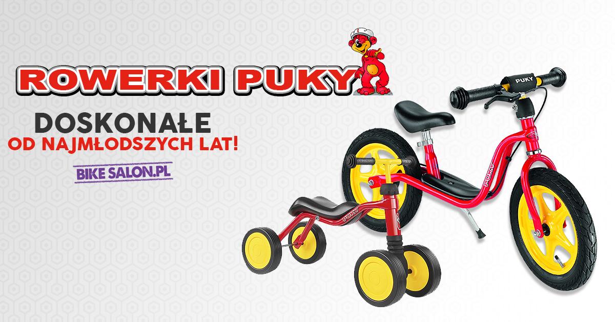 Nowe rowerki Puky - doskonałe dla najmłodszych rowerzystów!