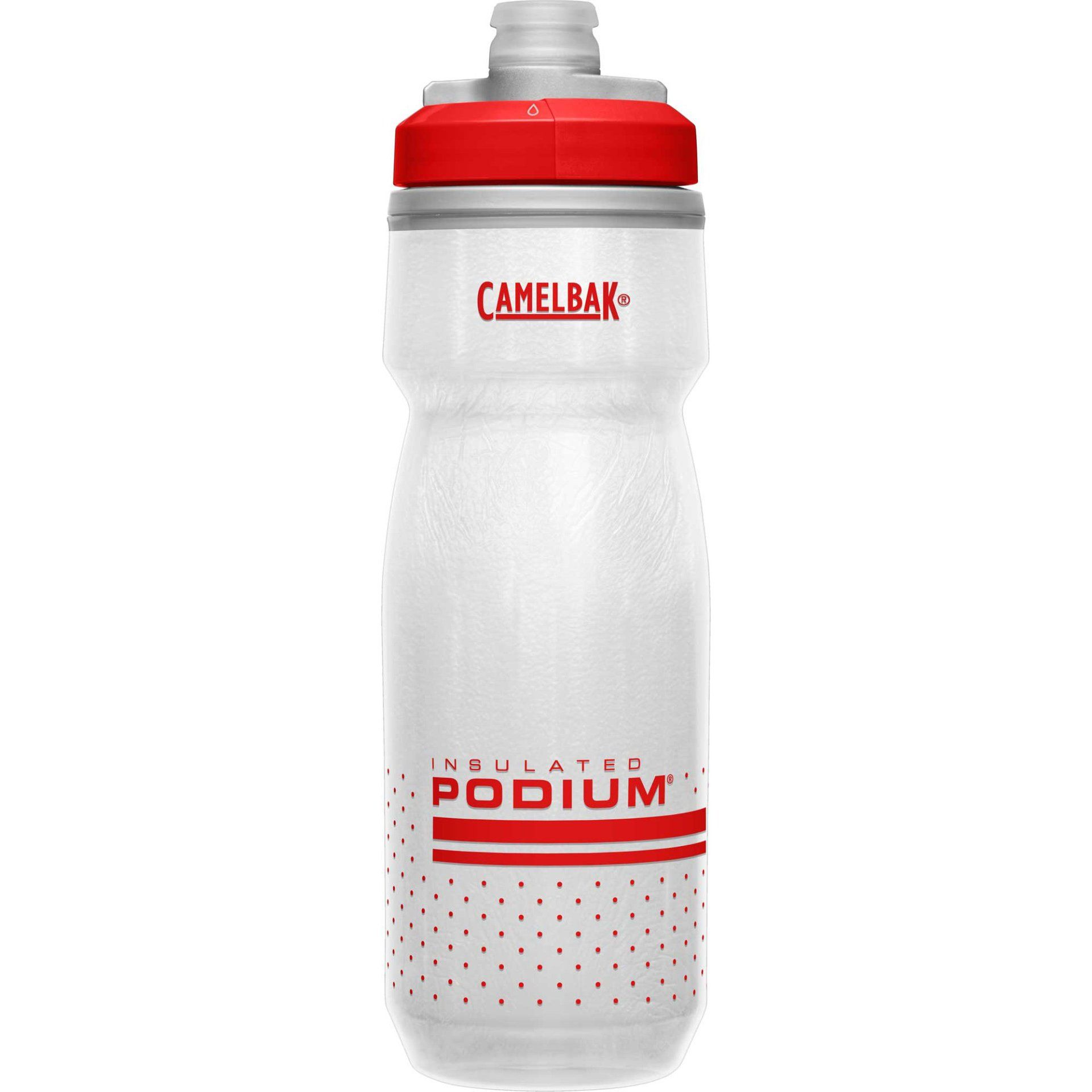 BIDON ROWEROWY CAMELBAK PODIUM CHILL 21OZ FIERY RED|WHITE