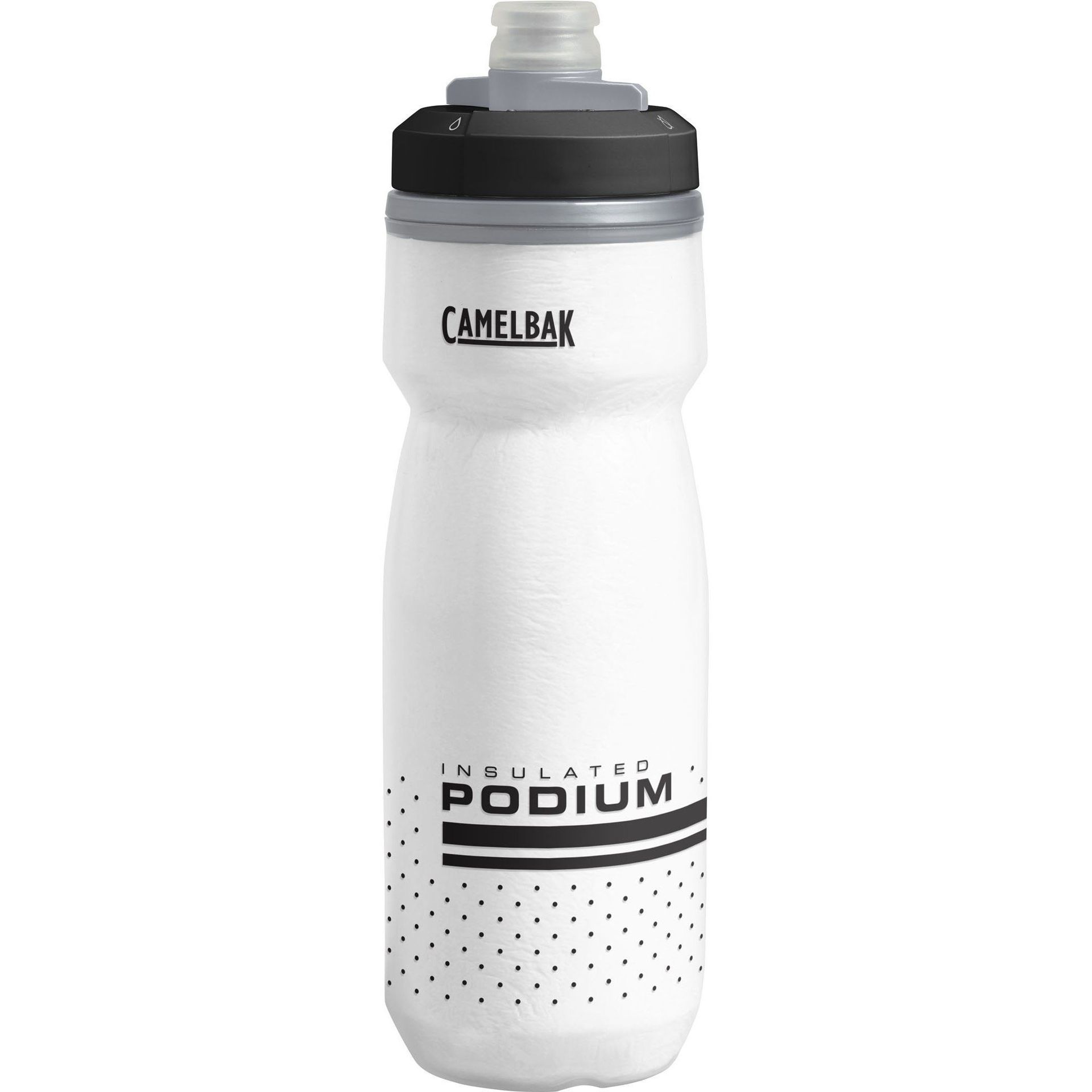 BIDON ROWEROWY CAMELBAK PODIUM CHILL 21OZ WHITE|BLACK
