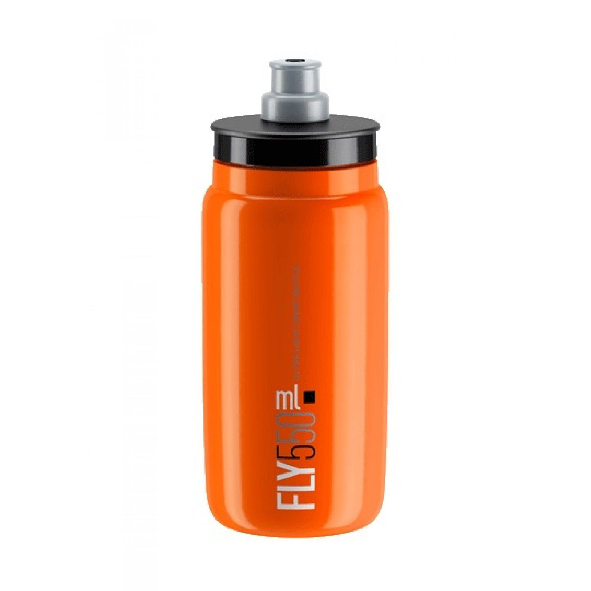 BIDON ROWEROWY ELITE FLY ELITE 550ML ORANGE BLACK