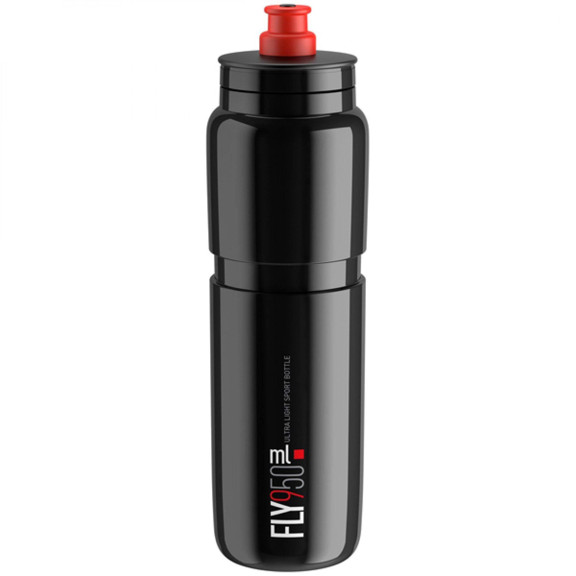 BIDON ROWEROWY ELITE FLY ELITE 950ML BLACK RED