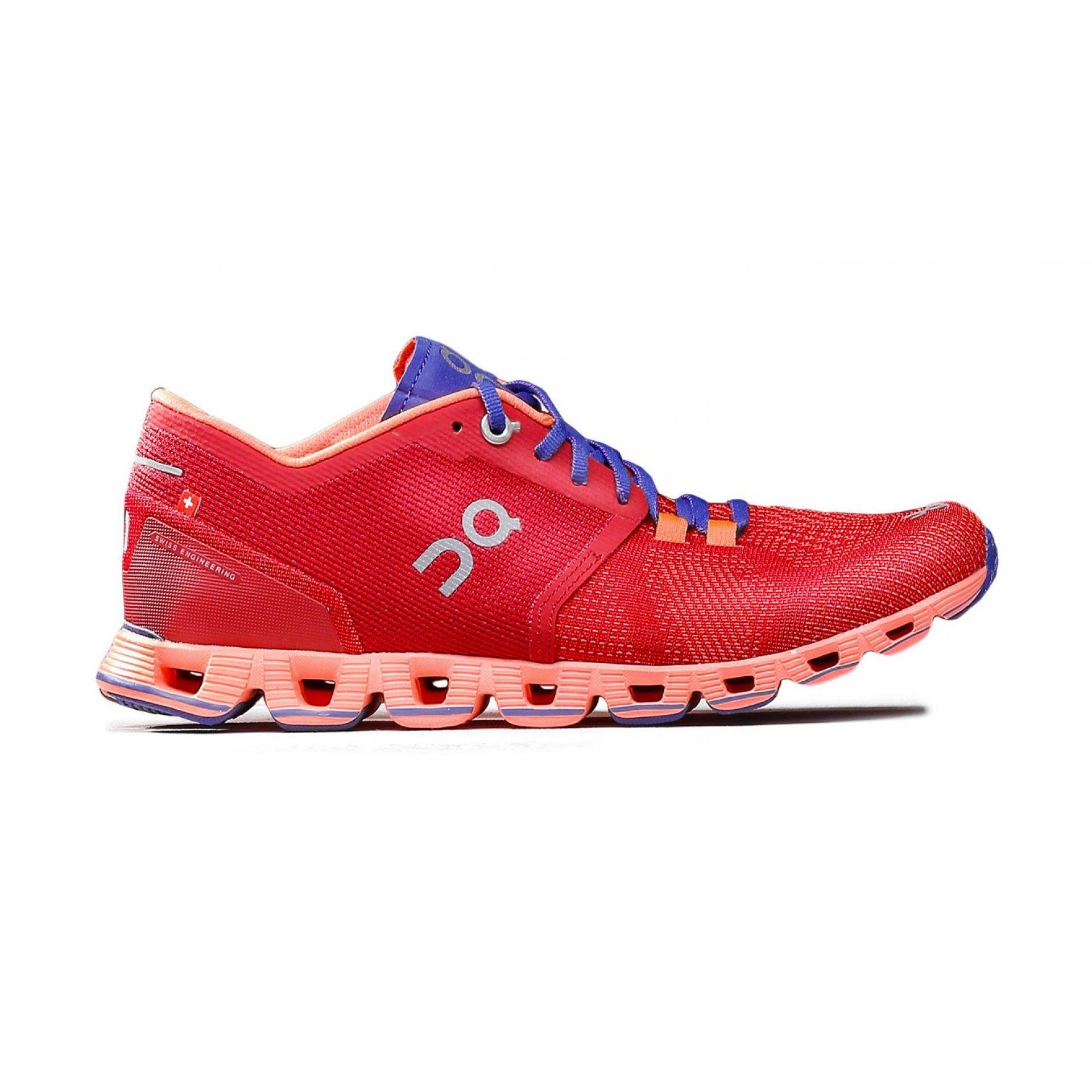 BUTY DO BIEGANIA ON RUNNING CLOUD X W RED FLASH