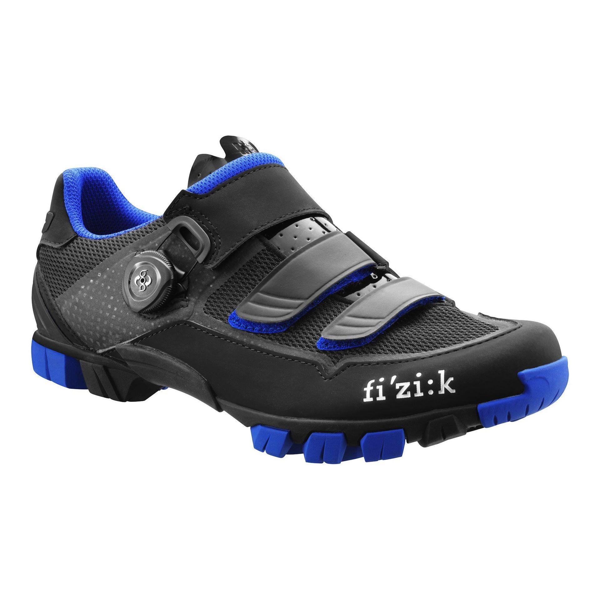 BUTY ROWEROWE FIZIK M6B BLACK|BLUE 1