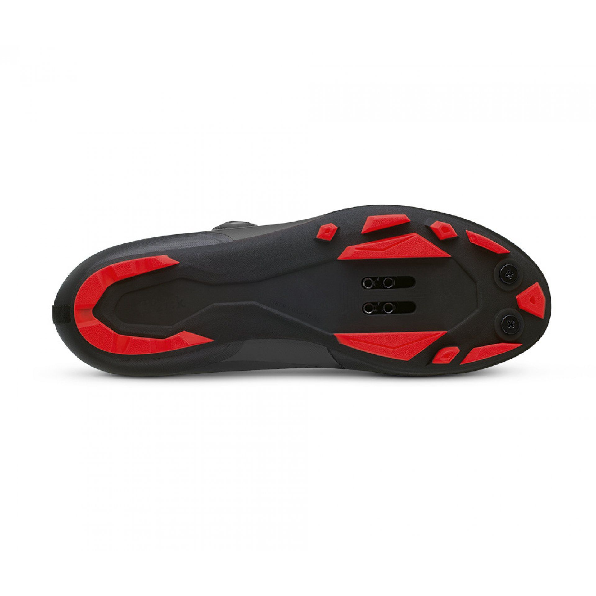 BUTY ROWEROWE FIZIK TERRA X5 1030 BLACK|RED PODESZWA