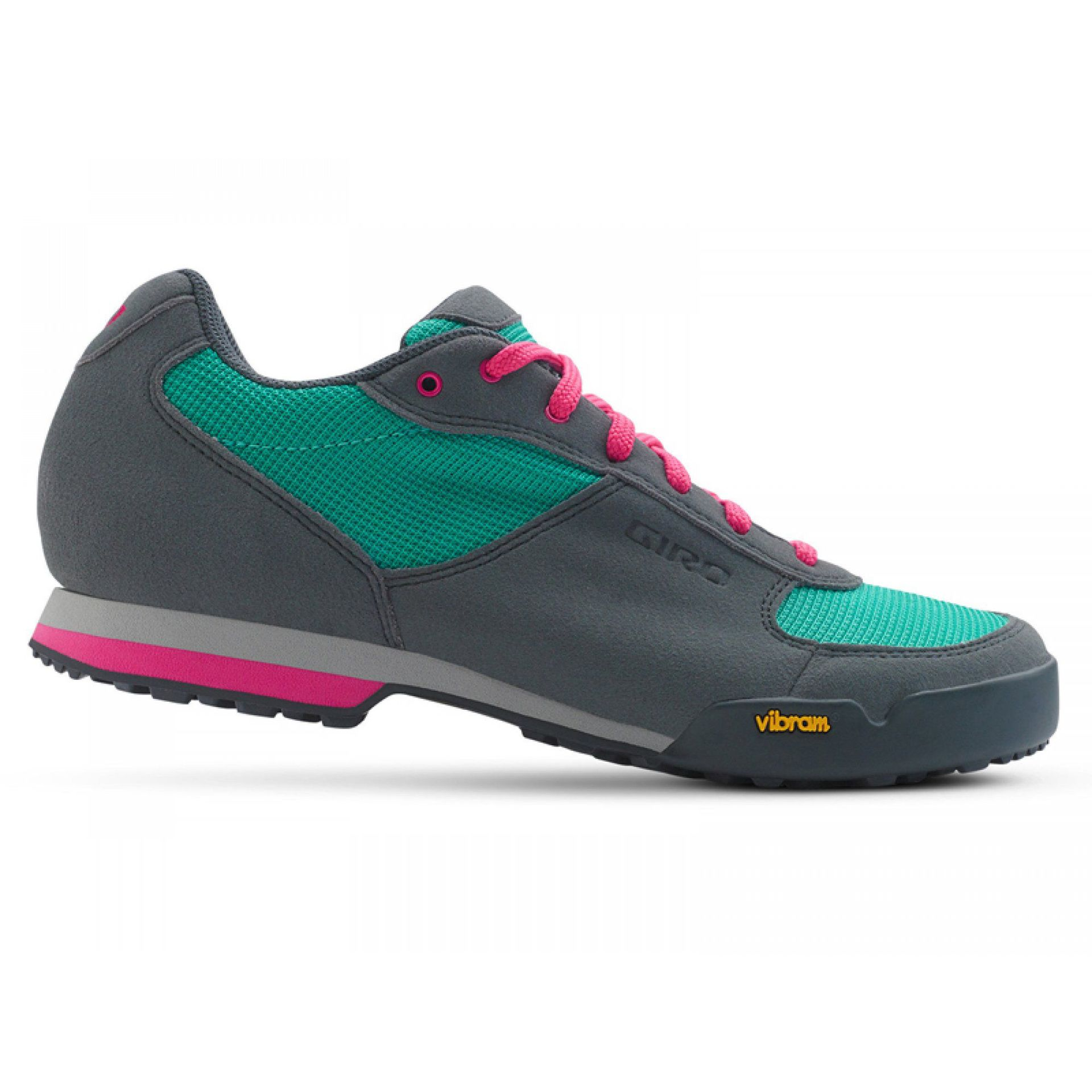 BUTY ROWEROWE GIRO PETRA VR TURQUOISE|BRIGHT PINK 1