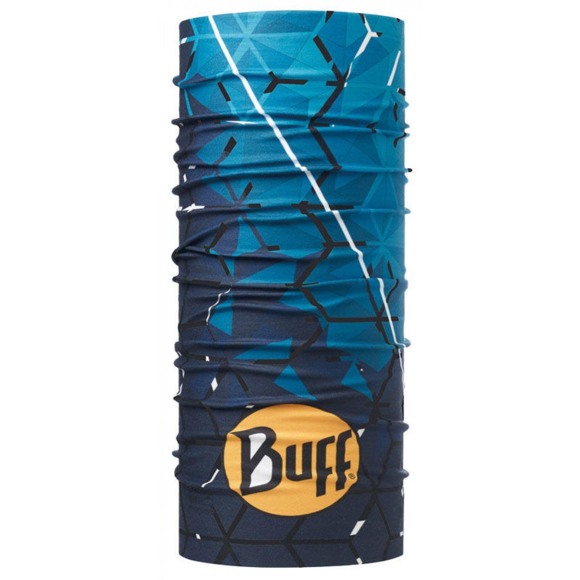 CHUSTA BUFF HIGH UV PROTECTION HELIX OCEAN BLUE