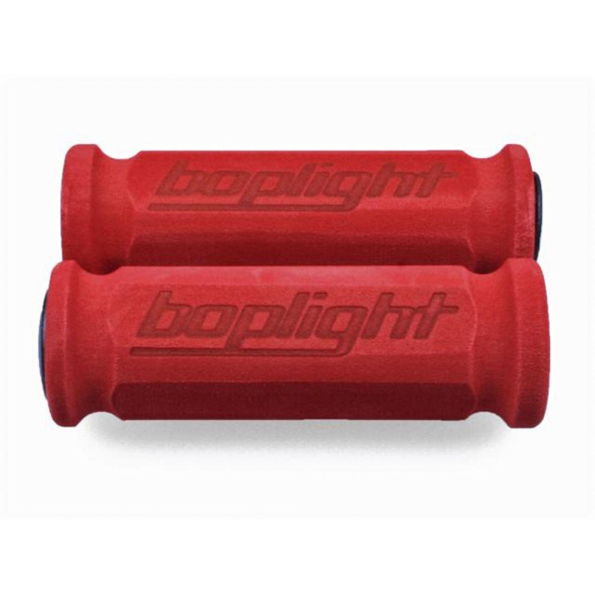 Chwyty kierownicy Boplight Race czerwone