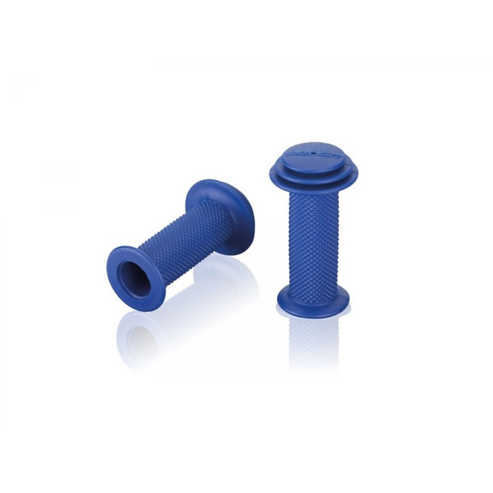 CHWYTY KIEROWNICY ROWEROWEJ XLC GR-G19 82MM BLUE 1