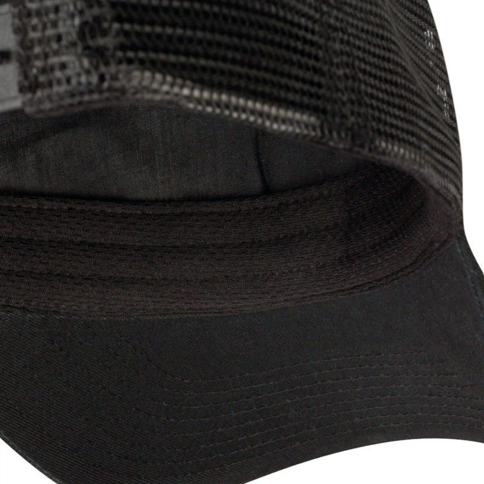 CZAPKA Z DASZKIEM BUFF TRUCKER CAP TABLE MOUNTAIN BLACK WEWNĄTRZ