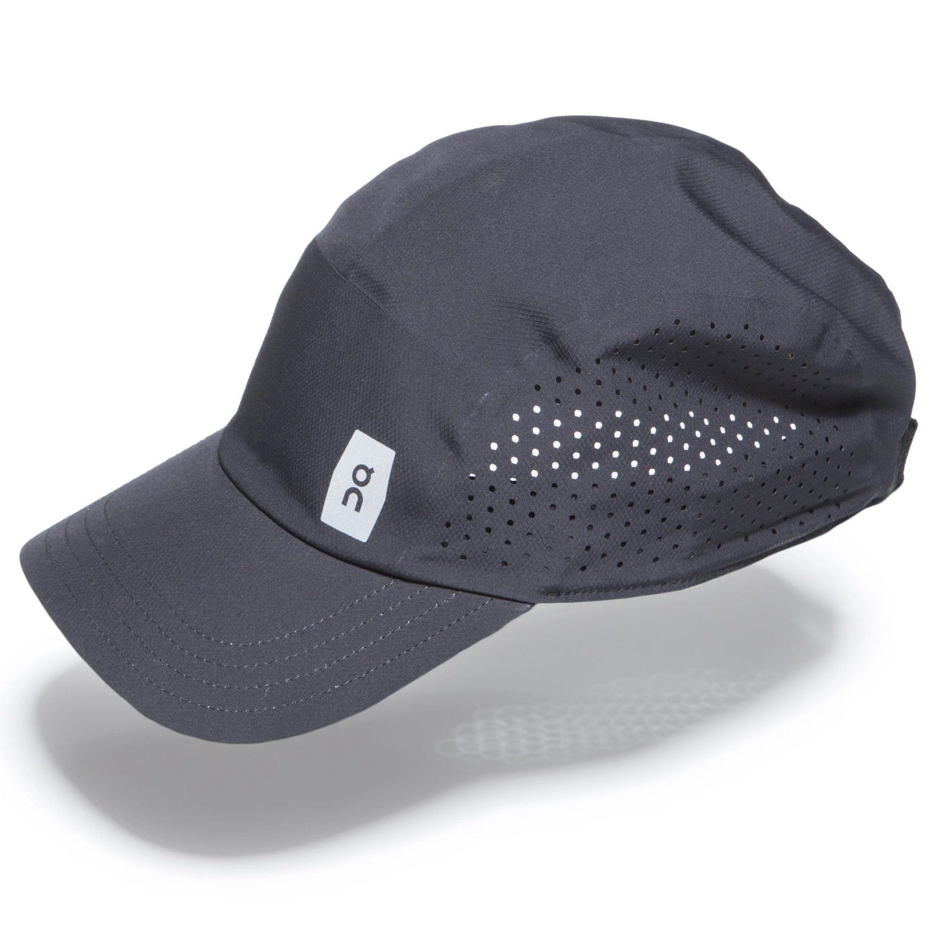 CZAPKA Z DASZKIEM ON RUNNING LIGHTWEIGHT RUNNING HAT BLACK