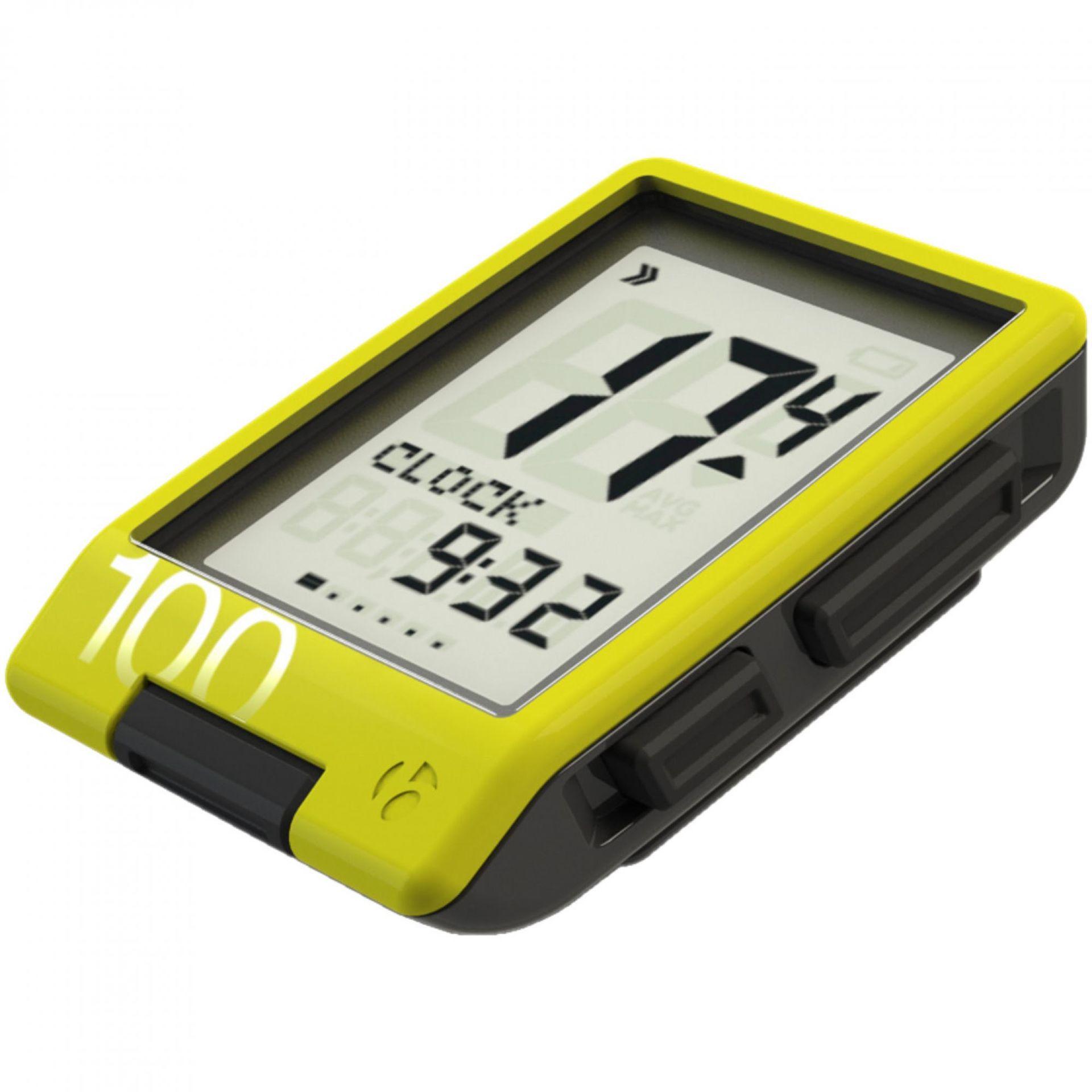 Licznik rowerowy Bontrager Trip 100 żółty