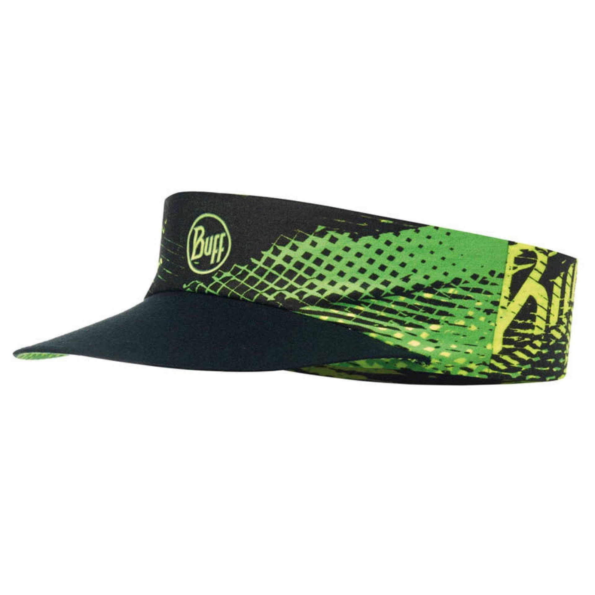 DASZEK BUFF PACK RUN VISOR R-FLASH LOGO YELLOW FLUOR