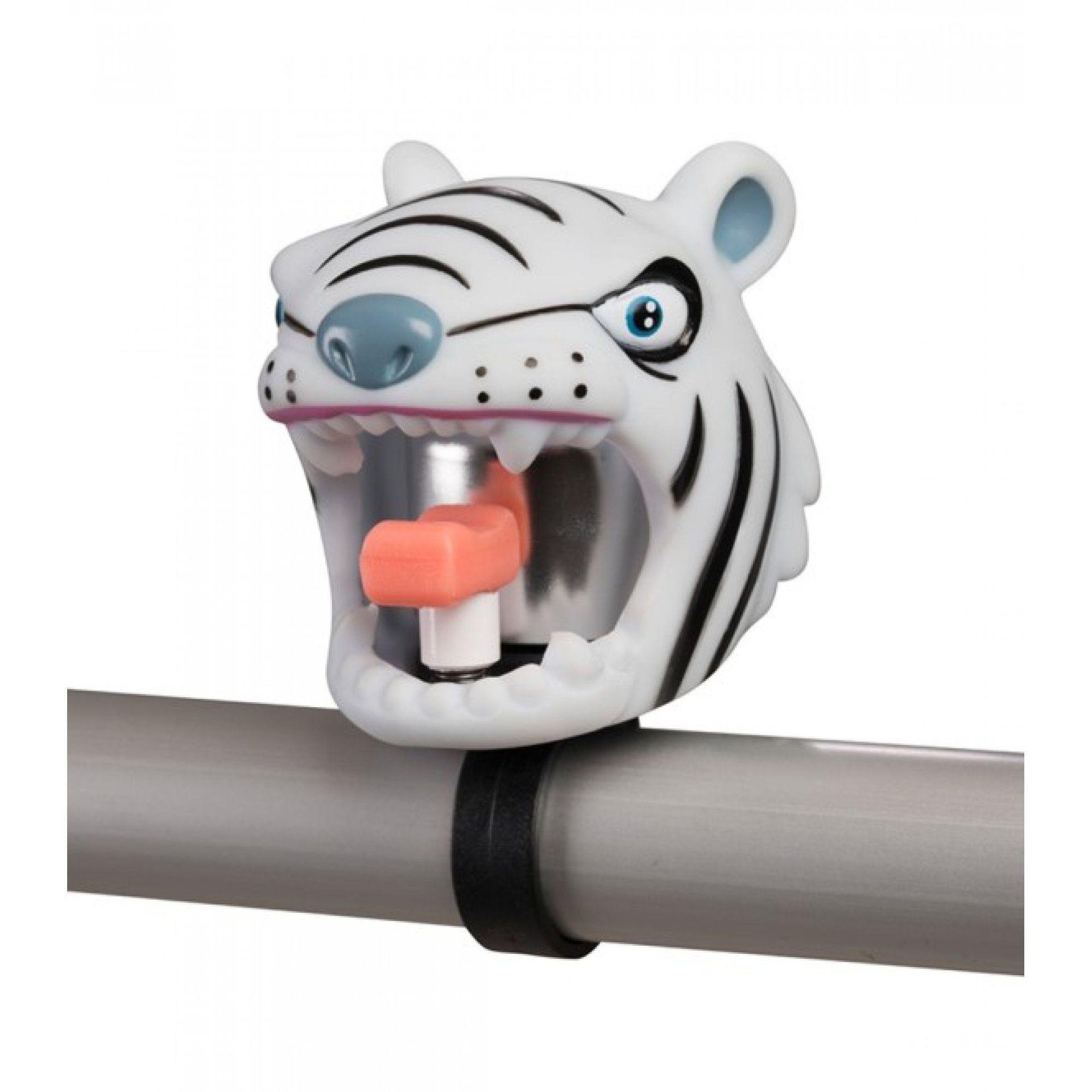 DZWONEK ROWEROWY CRAZY SAFETY WHITE TIGER