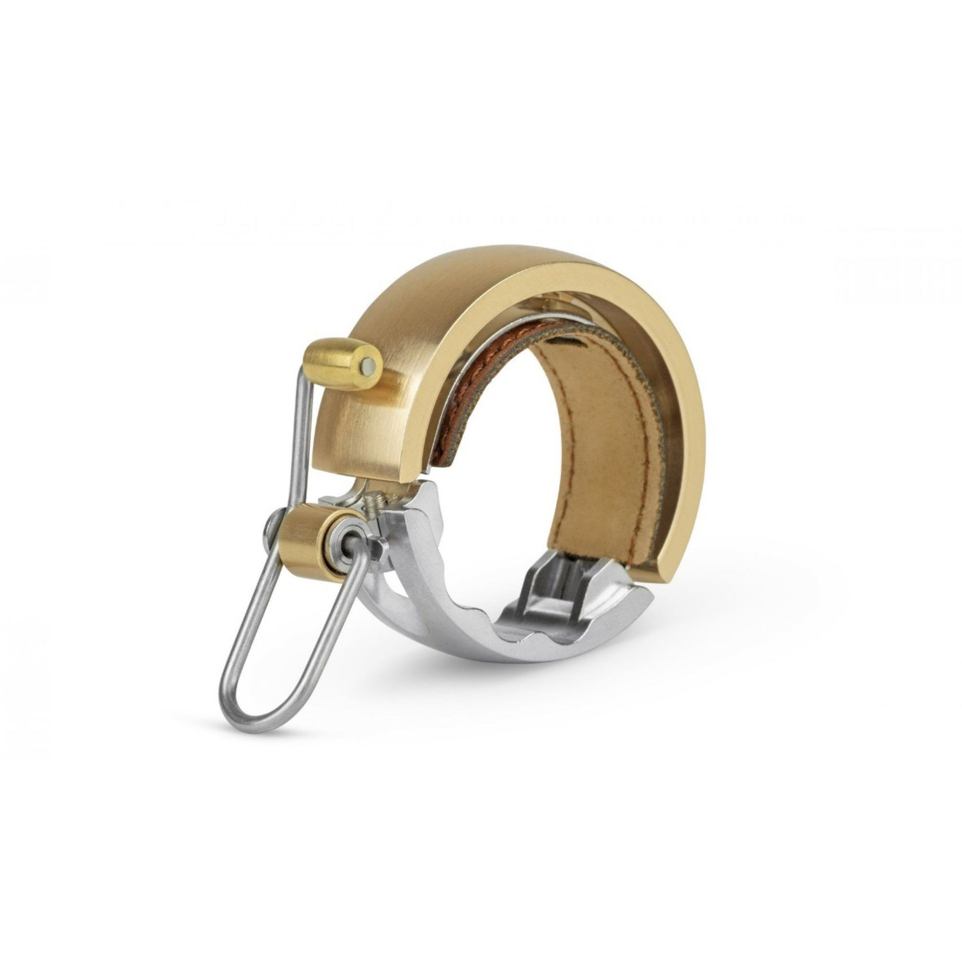 DZWONEK ROWEROWY KNOG OI LUXE LARGE GOLD