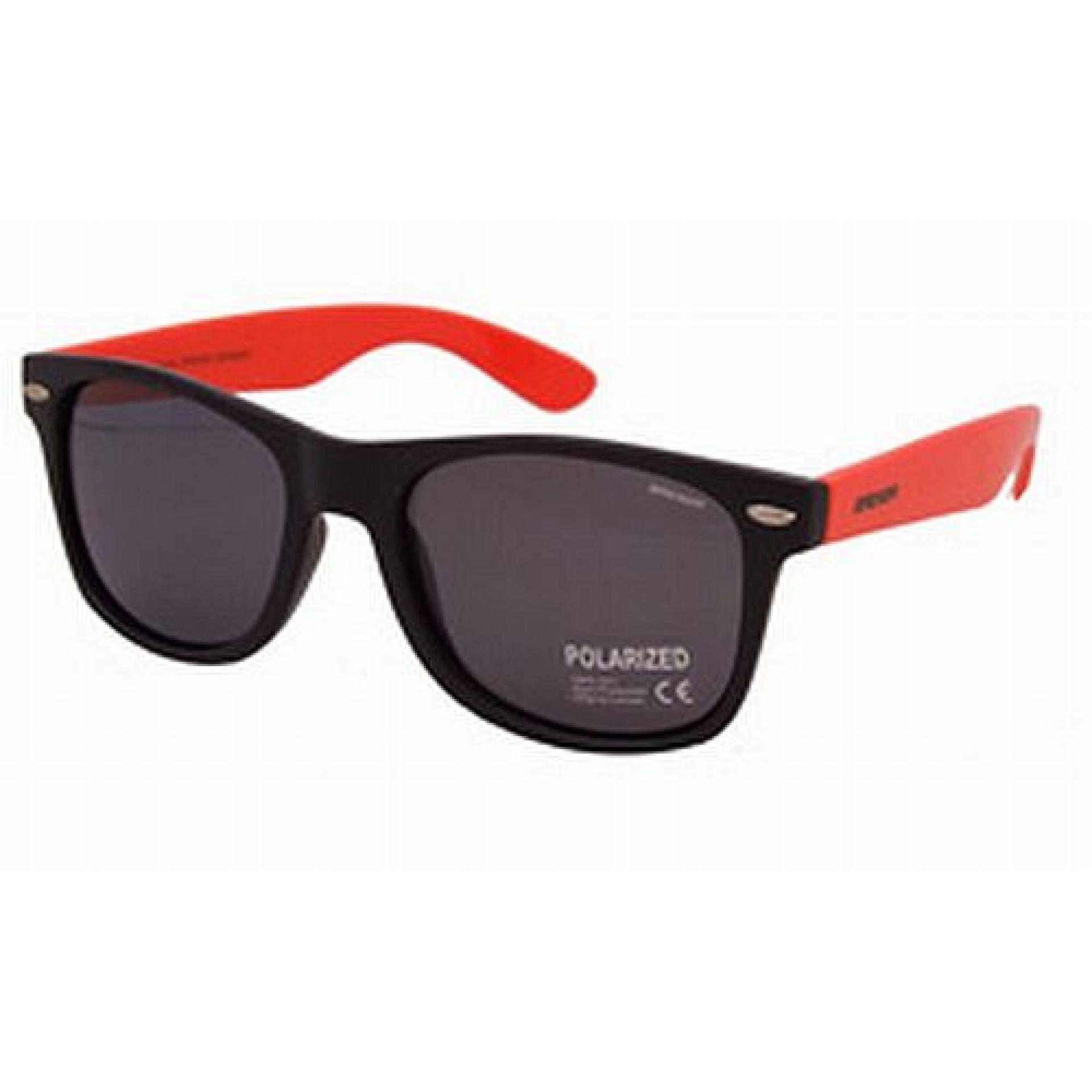 Okulary Brenda P8001-KL04 czarne różowe