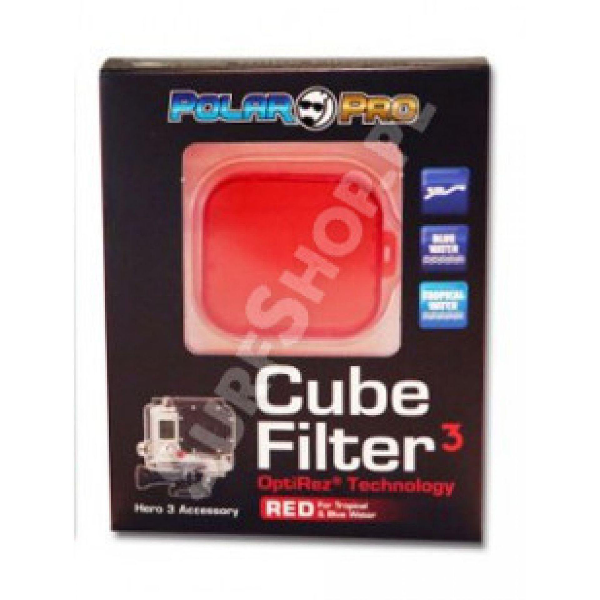 Filtr Polar Pro Cube Red Filter