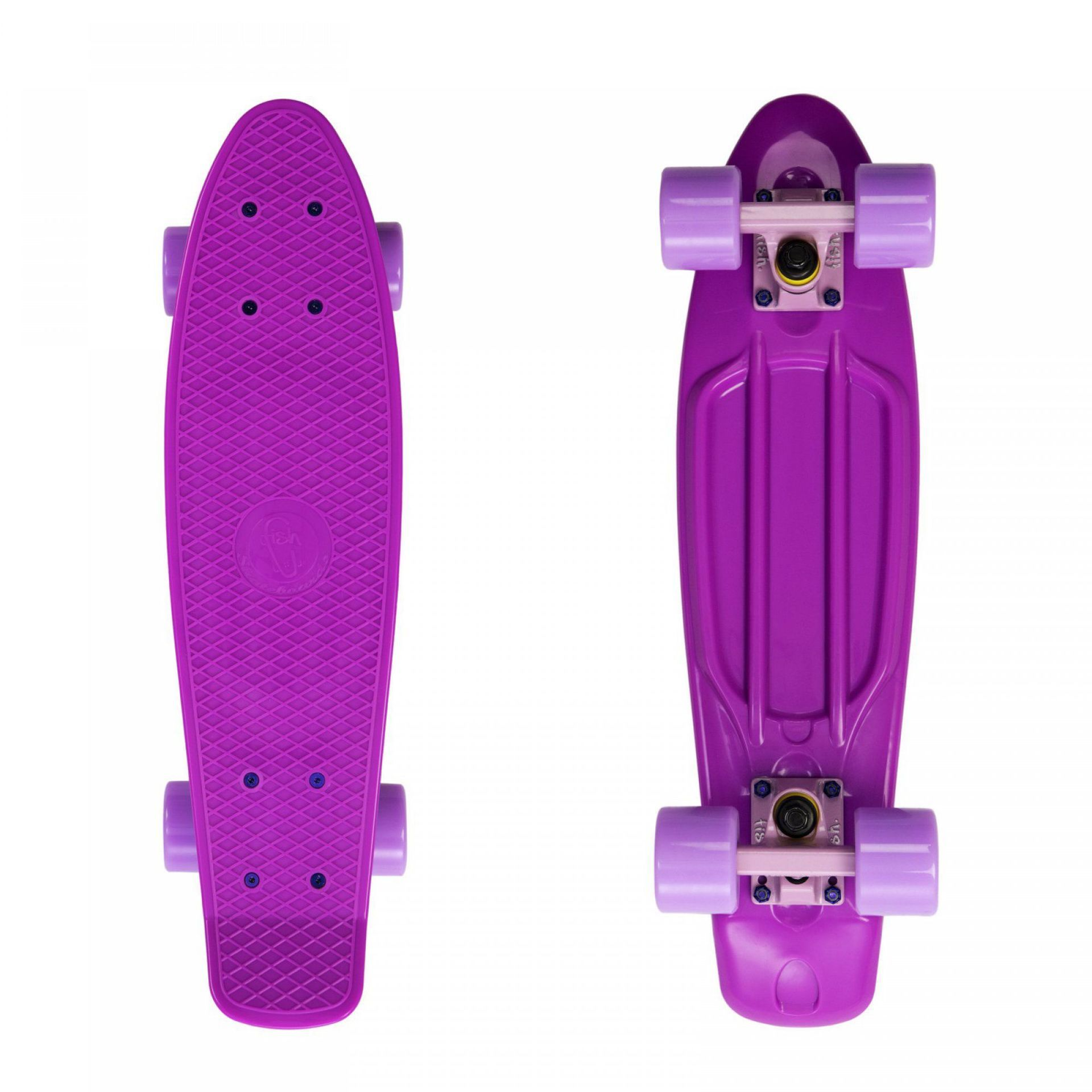 FISHBOARD FISH SKATEBOARDS CLASSIC PURPLE|SUMMER PINK|PURPLE