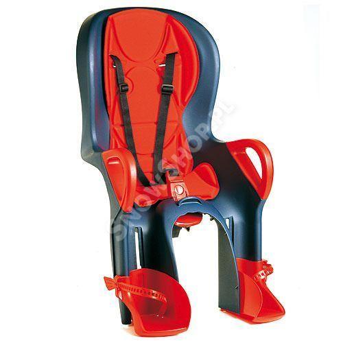 Fotelik dziecięcy Okbaby 10+ granatowy|czerwony