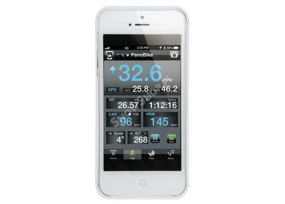 Pokrowiec Topeak  Ridecase II biały na iphone 4-4S
