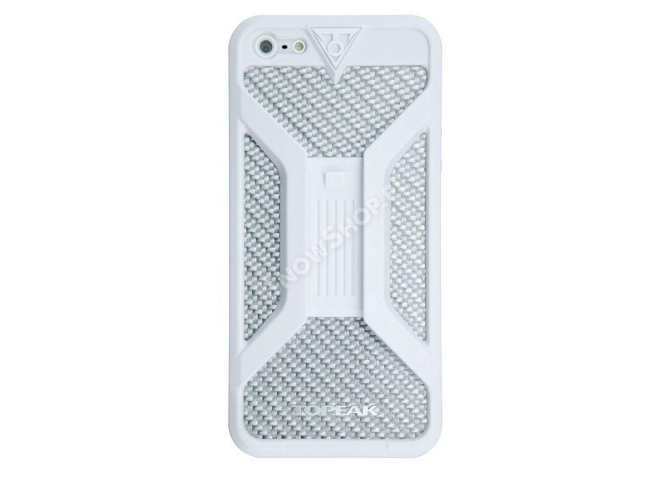 Pokrowiec Topeak  Ridecase II biały na iphone 4-4S tył