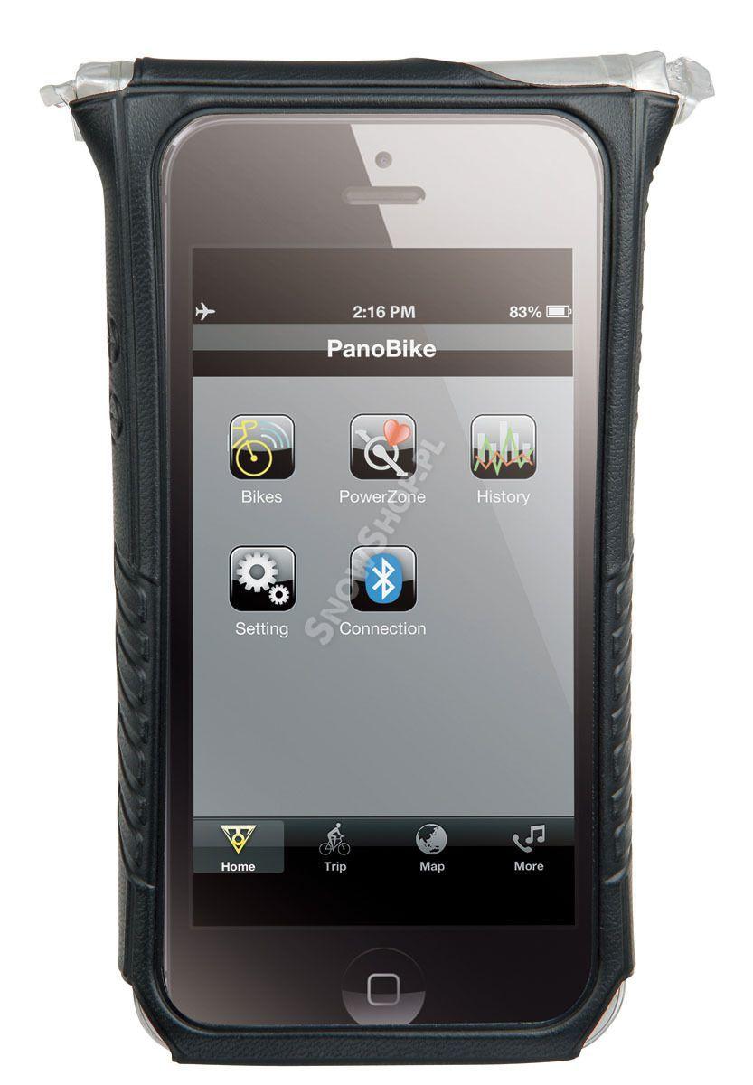 Pokrowiec Topeak Smartphone Drybag 5 czarny