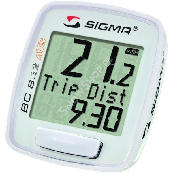 Licznik rowerowy Sigma BC 8.12 ATS