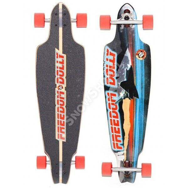 Longboard Freedome Dolly Shuttle Space