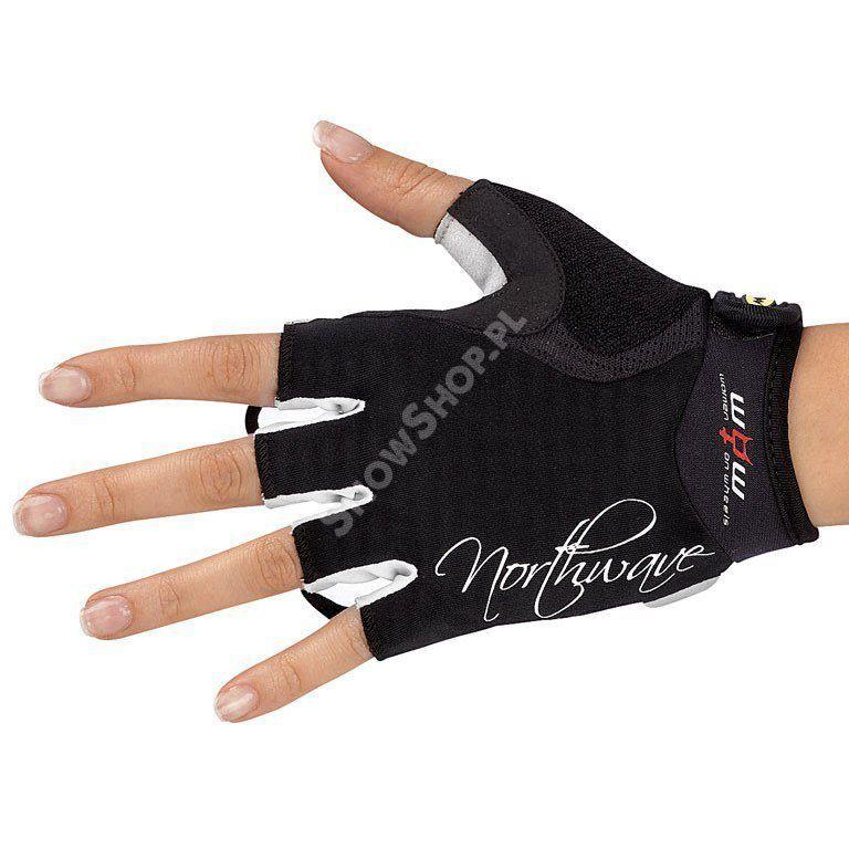 Rękawice rowerowe Northwave Crystal czarne