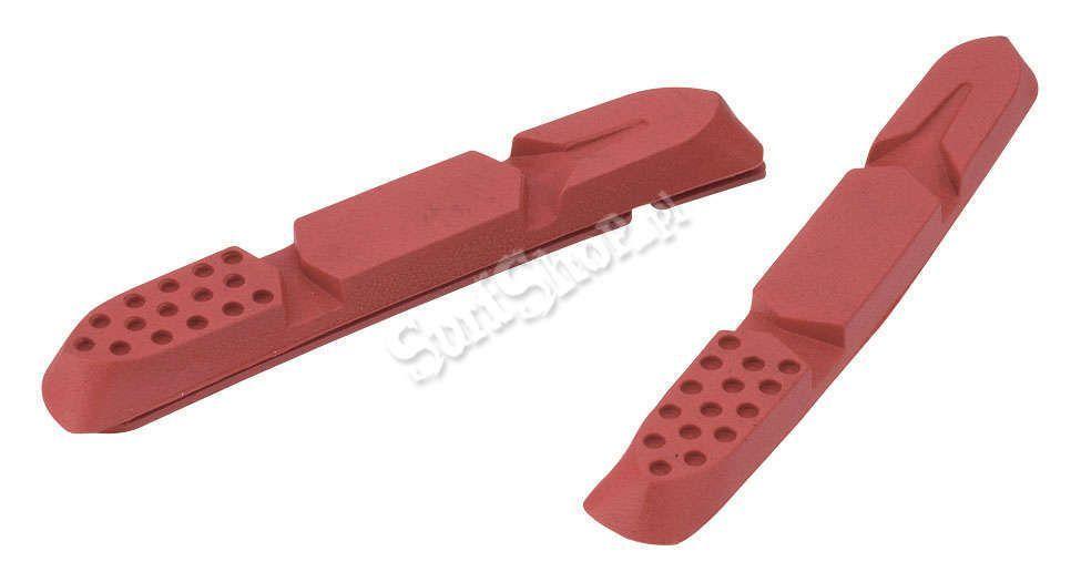 WKŁADKI HAMULCOWE JAGWIRE#MTB SWITCHBACK TRI INSERT#2012 RED