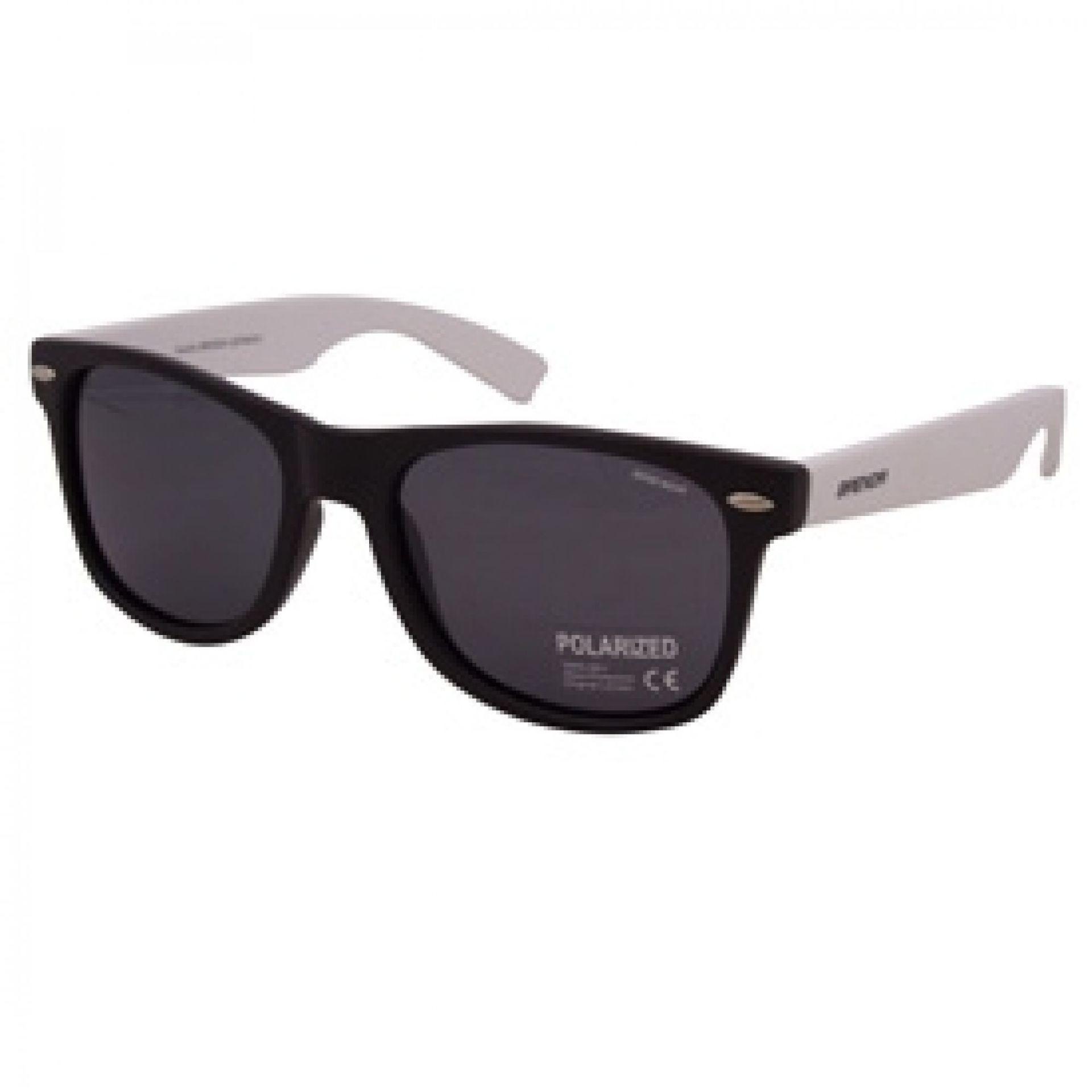 Okulary przeciwsłoneczne Brenda A501L/2030 białe czarne