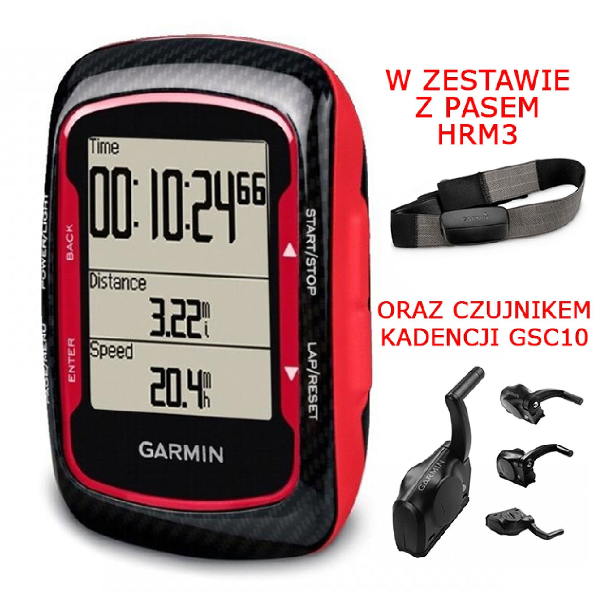 Garmin EDGE 500 Red Promo